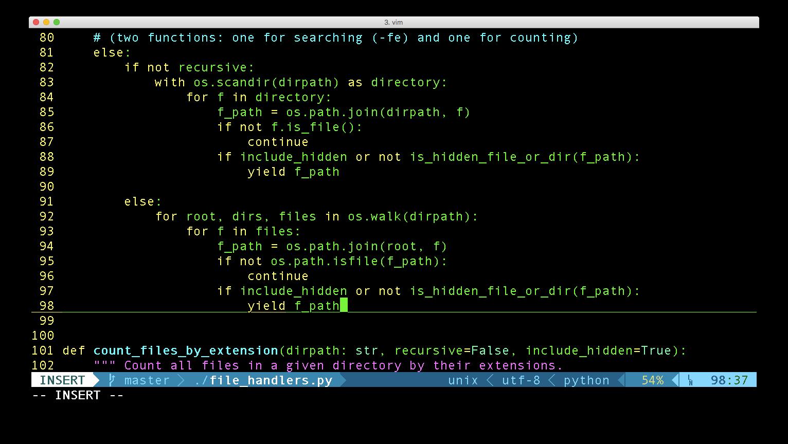 Python generators aregreat!