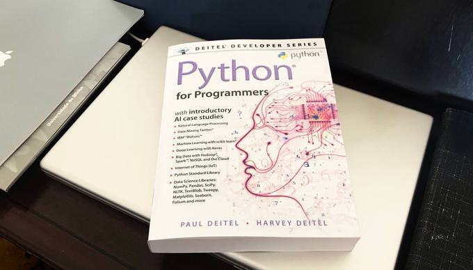 Book review – Python for Programmers, by Paul Deitel and Harvey Deitel
