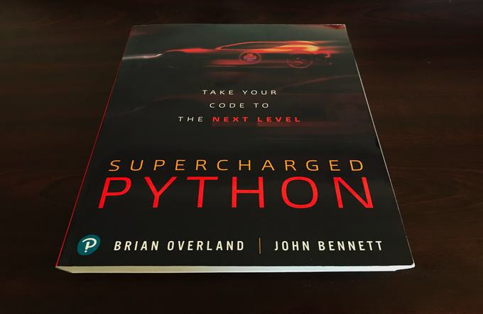 Book review — Supercharged Python, by Brian Overland and John Bennet