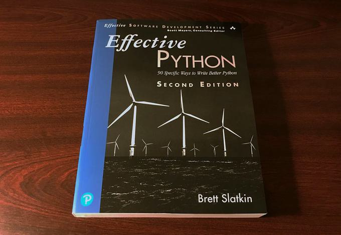 Book review — Effective Python, by Brett Slatkin (and a free chapter for download)