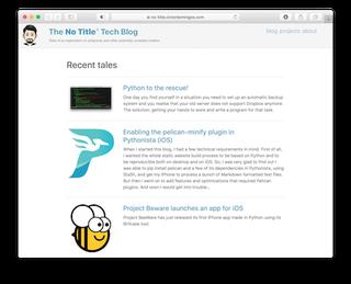 The No Title® Tech Blog
