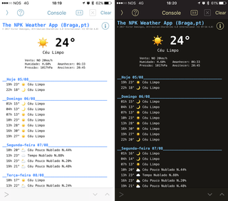 OpenWeather - Check the weather in your iPhone using a Python app